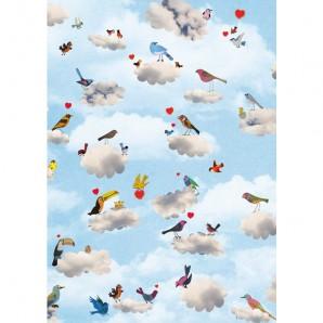 Grootzus - Postkaart Lovebirds