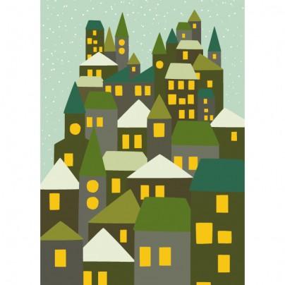 Hikje - Winterkaart Stad groen