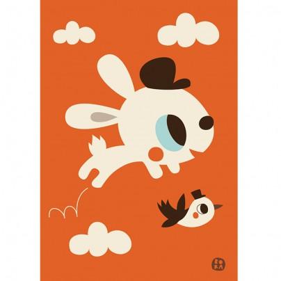 Bora - Kaart konijn Jumpy