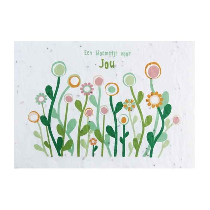 Favoriete Bloeikaart - Een bloemetje voor JOU PM-93
