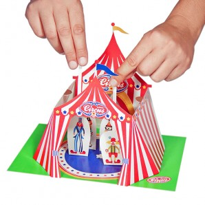 Pukaca - Circus Theater - DIY papier set