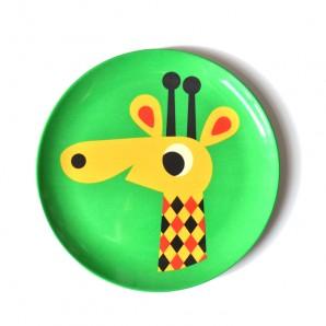 Ingela P Arrhenius - Melamine bordje Giraf