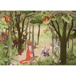 Grootzus - Postkaart bos