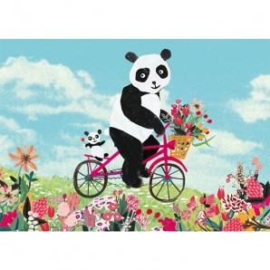 Grootzus - Postkaart Panda