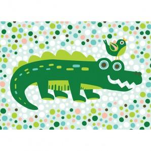 Hikje - Kaart Krokodil
