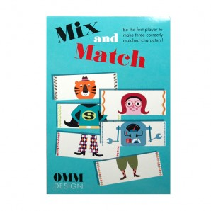 Ingela P Arrhenius - Mix and Match spel