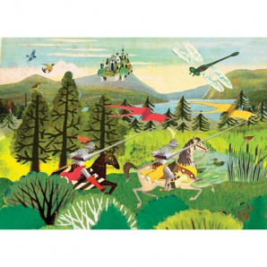 Grootzus - Postkaart Ridders