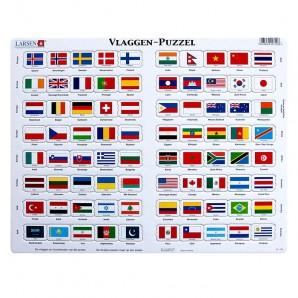 Larsen - Puzzel Vlaggen
