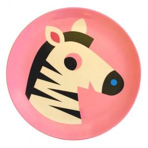 melamine bordje zebra