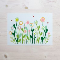 bloemen poster