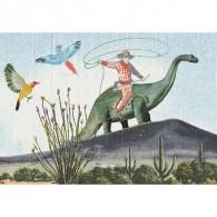 Grootzus - Postkaart Cowboy