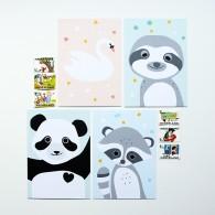 panda ansichtkaart