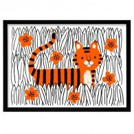 tijger poster