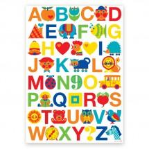 ByGraziela - ABC - Kinderkamer Poster
