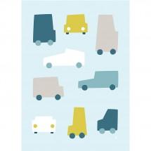 Hikje - Kinderkamer Poster Auto's
