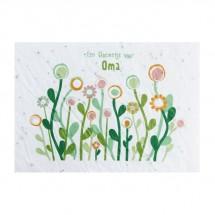 Bloeikaart - Een bloemetje voor OMA