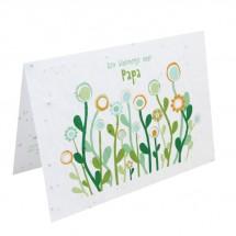 Bloeikaart - Een bloemetje voor PAPA